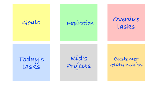 evernote filterize dashboard ideas